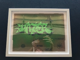 Dater - Framed Cardboard Work