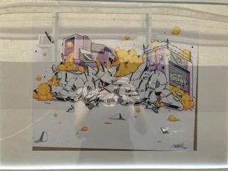 Dater - Framed Work