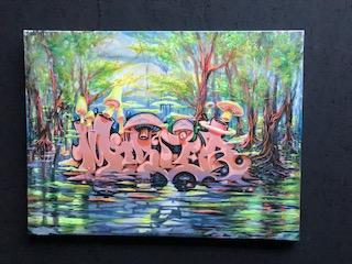 """MISTER - Canvas """"Mushroom"""""""