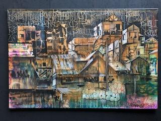 "MISTER - Canvas ""Village Beauty"""