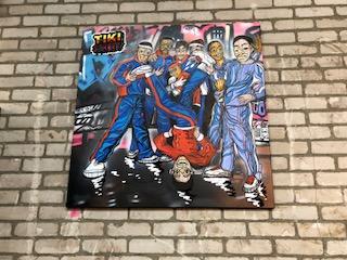 "Lazy65 - Canvas ""Tiki Streets"""