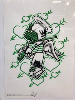 WUZE - Green Print - Posca Special Edition