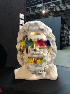 "Fabio Weik - ""Giove Mediateco"" Sculpture"