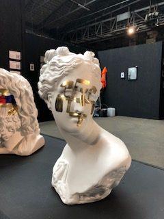 "Fabio Weik - ""Auratus Diadumenos"" Sculpture"