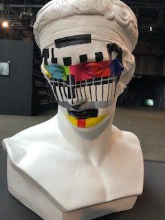 "Fabio Weik - ""Media Secundum Diadumenos"" Sculpture"