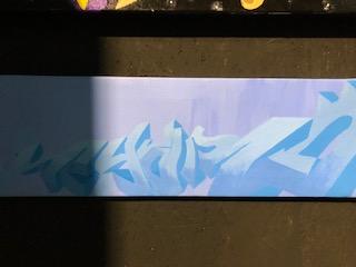 """SEYAR - Canvas """"The Blue Seyar"""""""