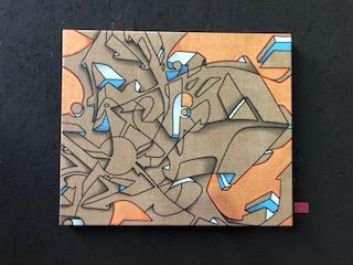 Neon - Medium Canvas Gold