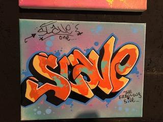 Slave - Small Canvas